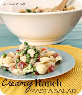 Creamy Ranch Pasta Salad Recipe