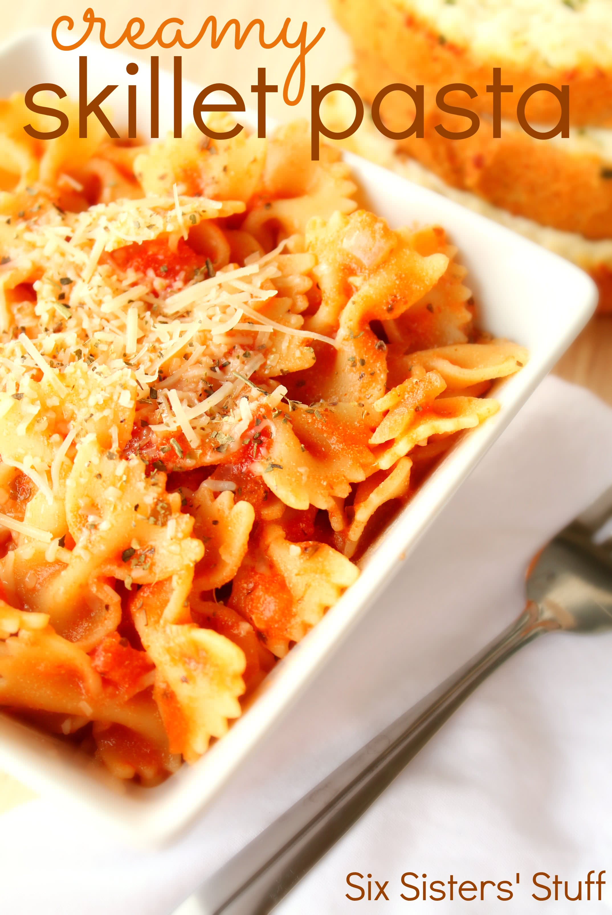 Creamy-Skillet-Pasta-Recipe