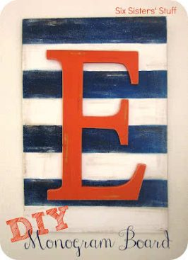 DIY Monogram Board Tutorial