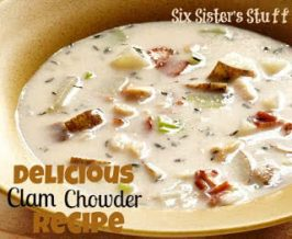 Delicious Clam Chowder Recipe