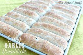 Easy Garlic Breadsticks