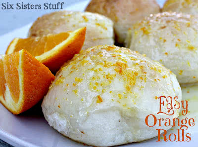 Easy Orange Rolls Recipe