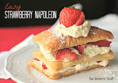 Easy Strawberry Napoleon Recipe