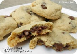 Fudge-Filled Chocolate Chip Cookies Recipe