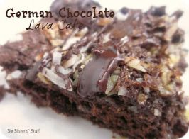 German Chocolate Lava Cake Recipe