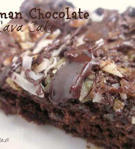German Chocolate Cake Bars Six Sisters