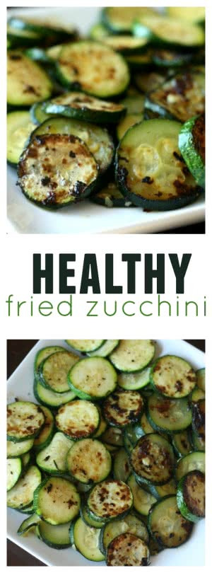 Healthy Fried Zucchini from Six Sisters' Stuff pin