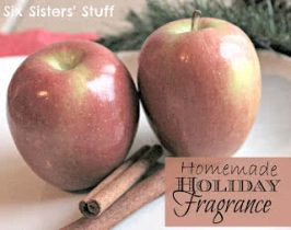 Homemade Holiday Fragrance