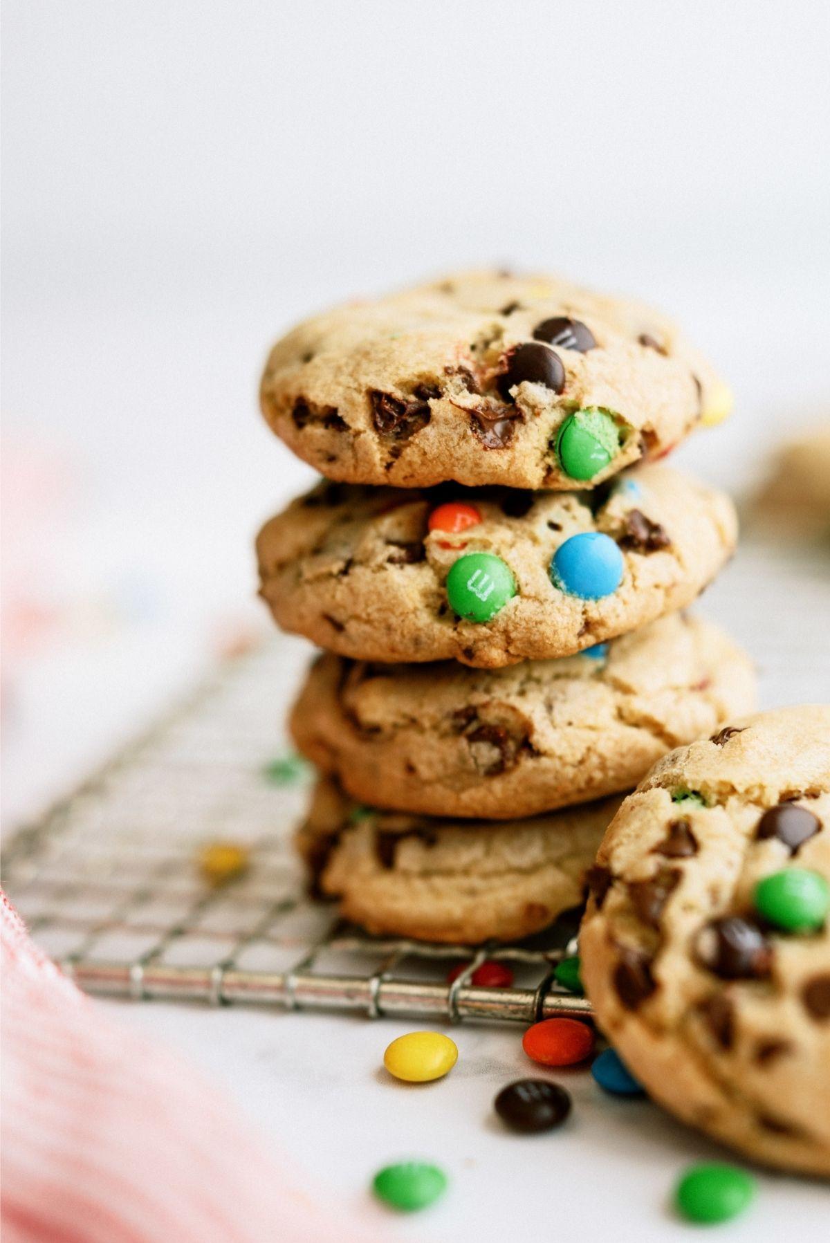 M&M Pudding Cookies Recipe