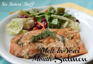 Melt in Your Mouth Broiled Salmon