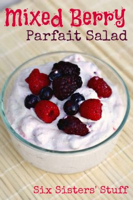 Progressive Dinner Project: Mixed Berry Parfait Salad