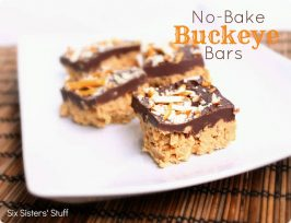 No-Bake Buckeye Bars Recipe