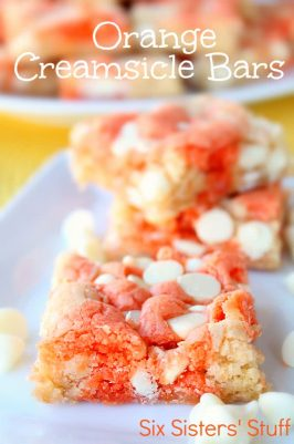 Orange Creamsicle Bars Recipe