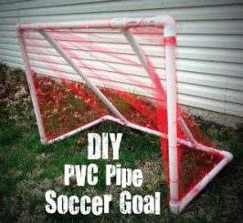 Cheap and Easy DIY PVC Pipe Soccer Goal