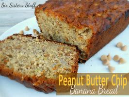 Peanut Butter Chip Banana Bread