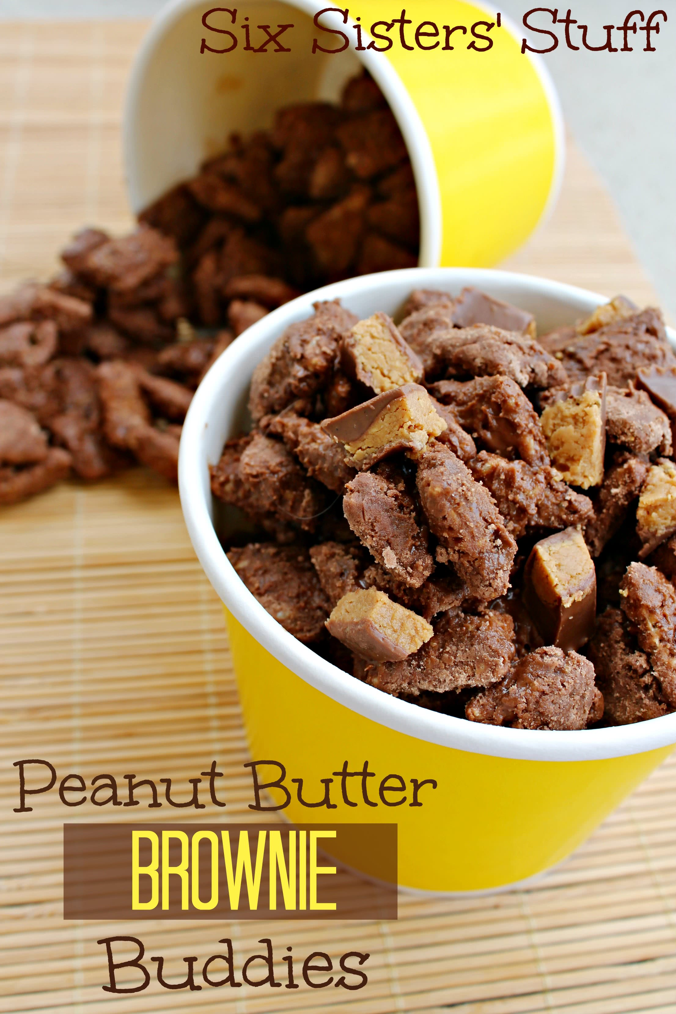 Peanut Butter Brownie Buddies