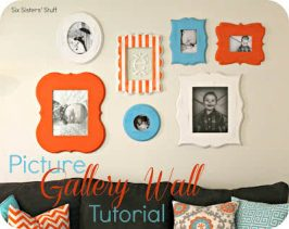 Picture Gallery Wall Tutorial