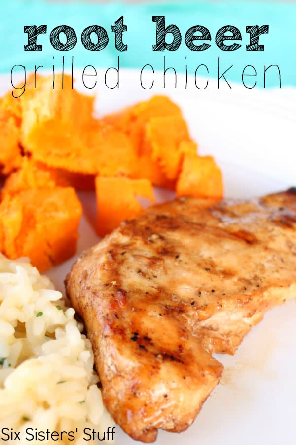 Root Beer Grilled Chicken Recipe