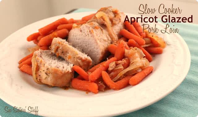 Slow Cooker Apricot Glazed Pork Tenderloin Recipe