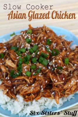 Slow Cooker Asian Glazed Chicken