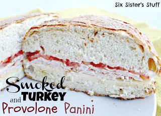 Panera Bread Copycat Recipe: Smoked Turkey and Provolone Panini