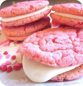 Strawberry Valentine Oreo Cookies Recipe