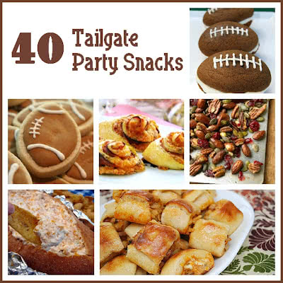 40 Tailgate Party Snacks