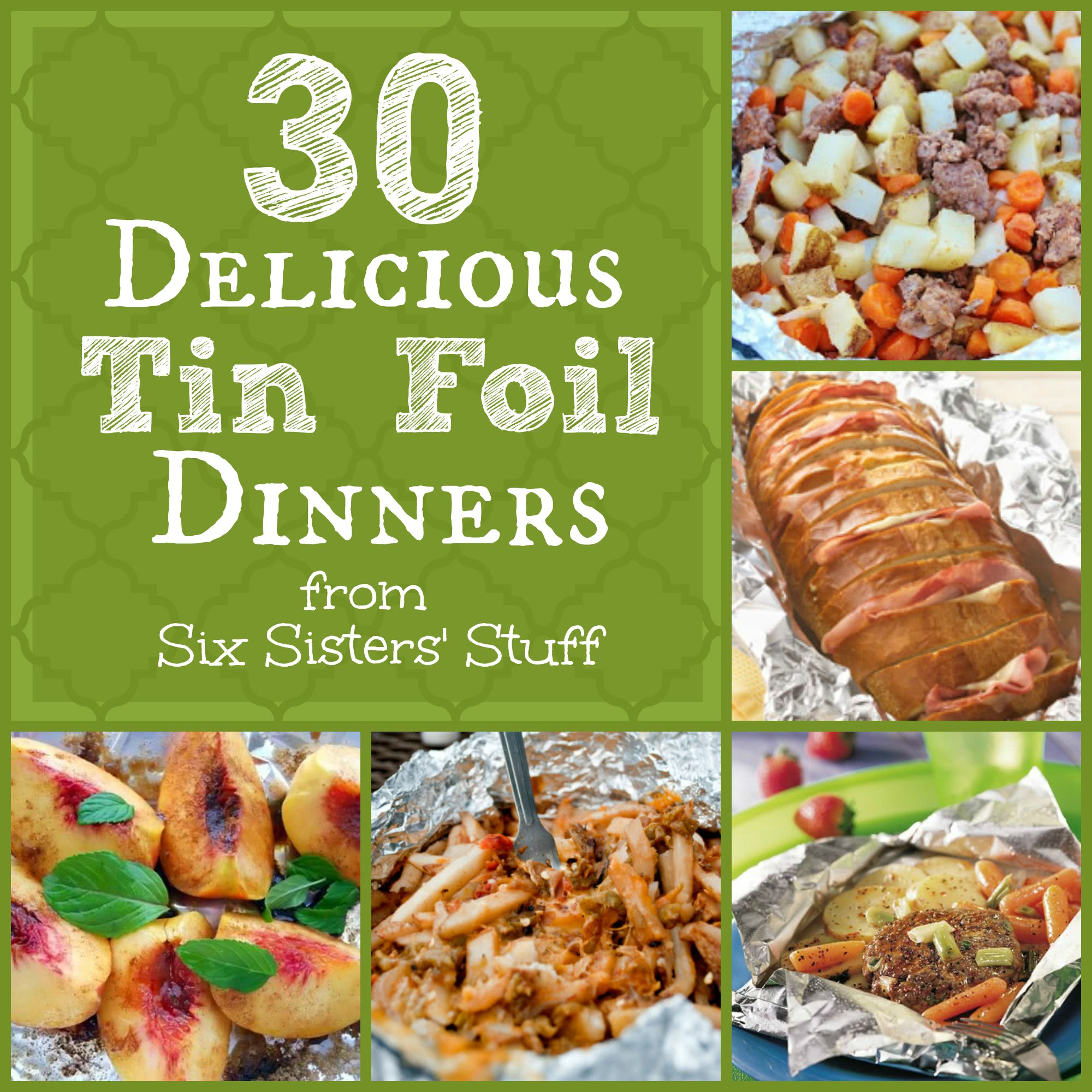 Tin foil dinner