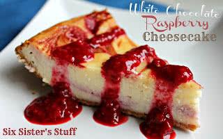 Delicious White Chocolate Raspberry Cheesecake Recipe