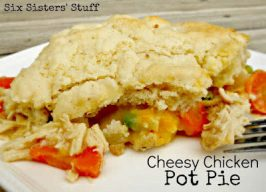 Cheesy Chicken Pot Pie Recipe (and $30 WalMart Gift Card Giveaway)