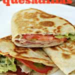 chicken-club-quesadillas