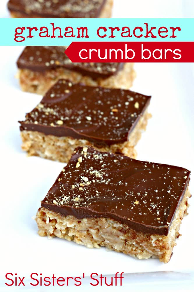 Graham Cracker Crumb Bars Recipe
