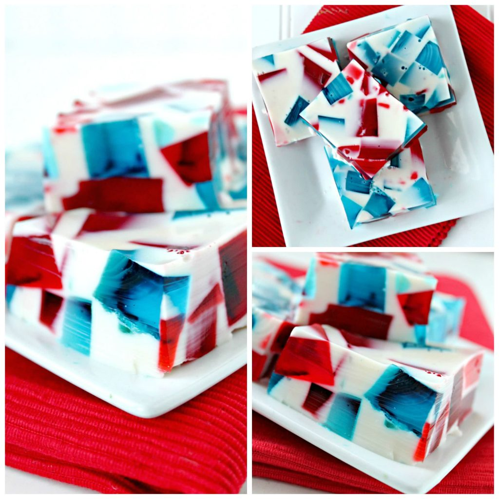 red white blue jello 1