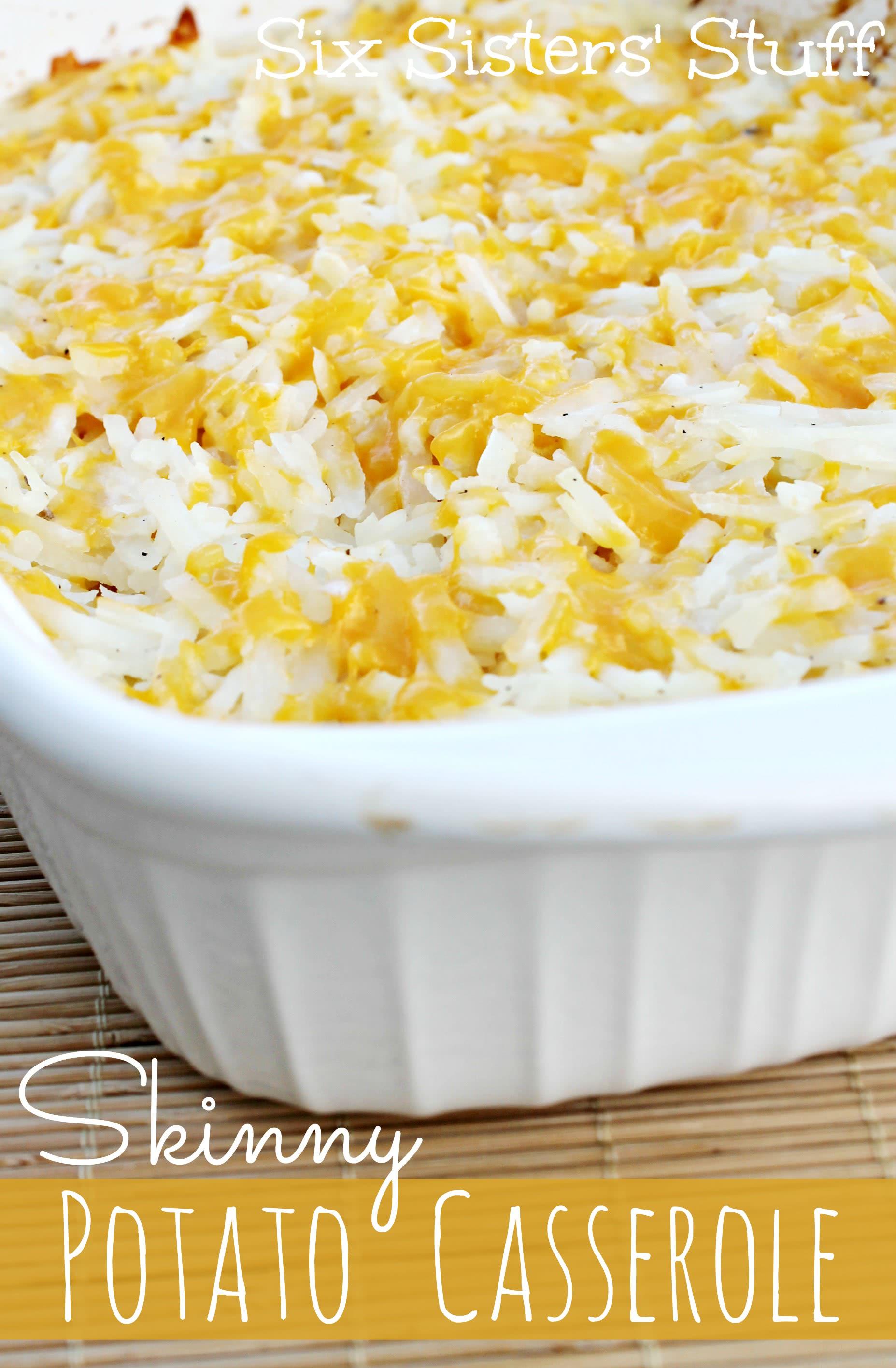 skinny potato casserole