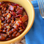 How to make baked beans in crockpot