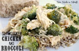 Slow Cooker Chicken and Broccoli over Rice