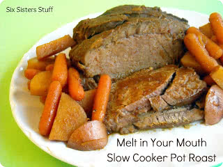 Melt in Your Mouth Slow Cooker Pot Roast Recipe