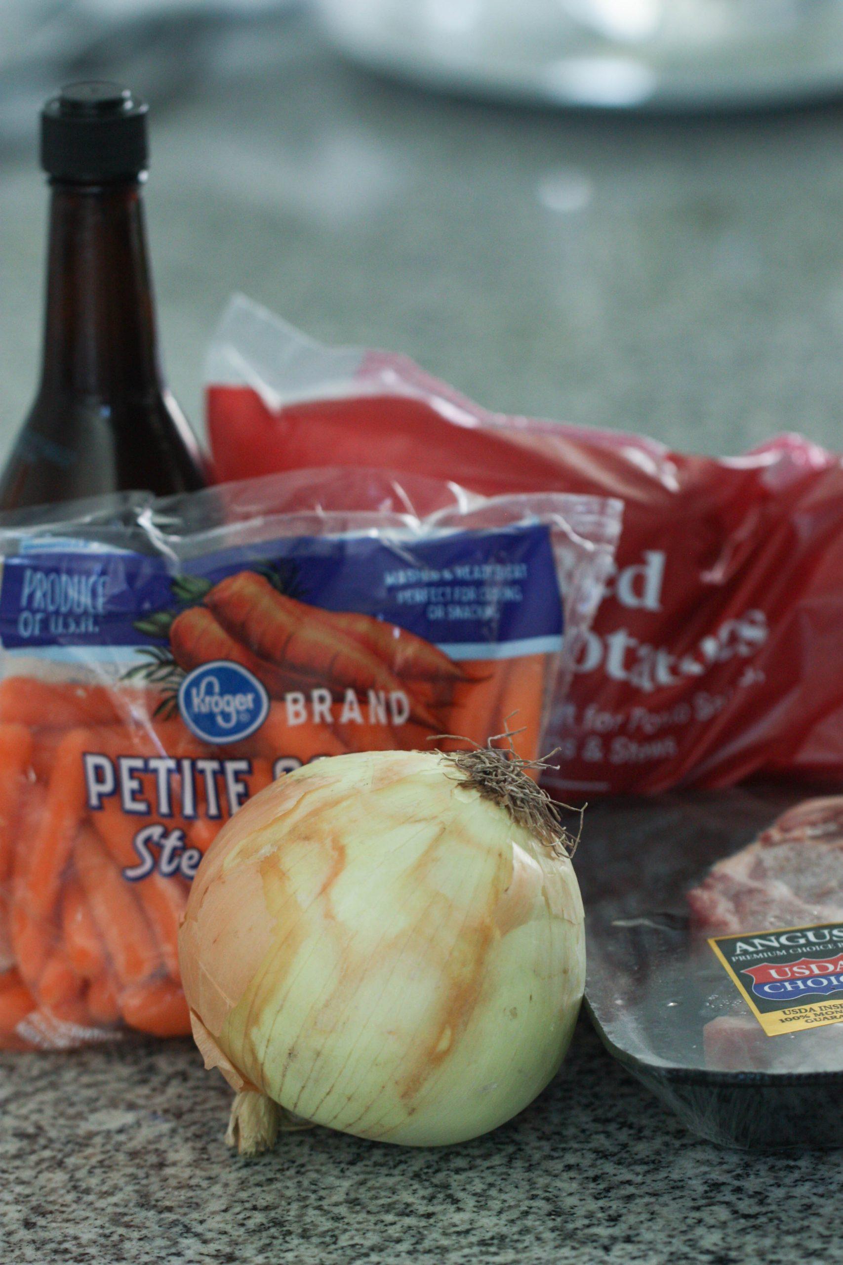 Ingredients for Easy Hobo Tin Foil Dinner Recipe