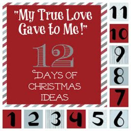 """My True Love Gave to Me"" 12 Days of Christmas Ideas"