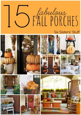 15 Fabulous Fall Porches