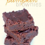 2-Ingredient-Pumpkin-Brownies-Recipe