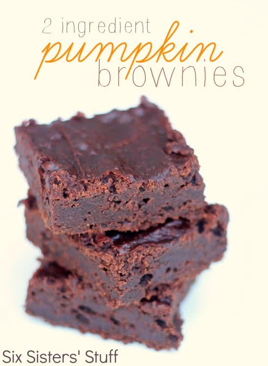 2-Ingredient-Pumpkin-Brownies-Recipe