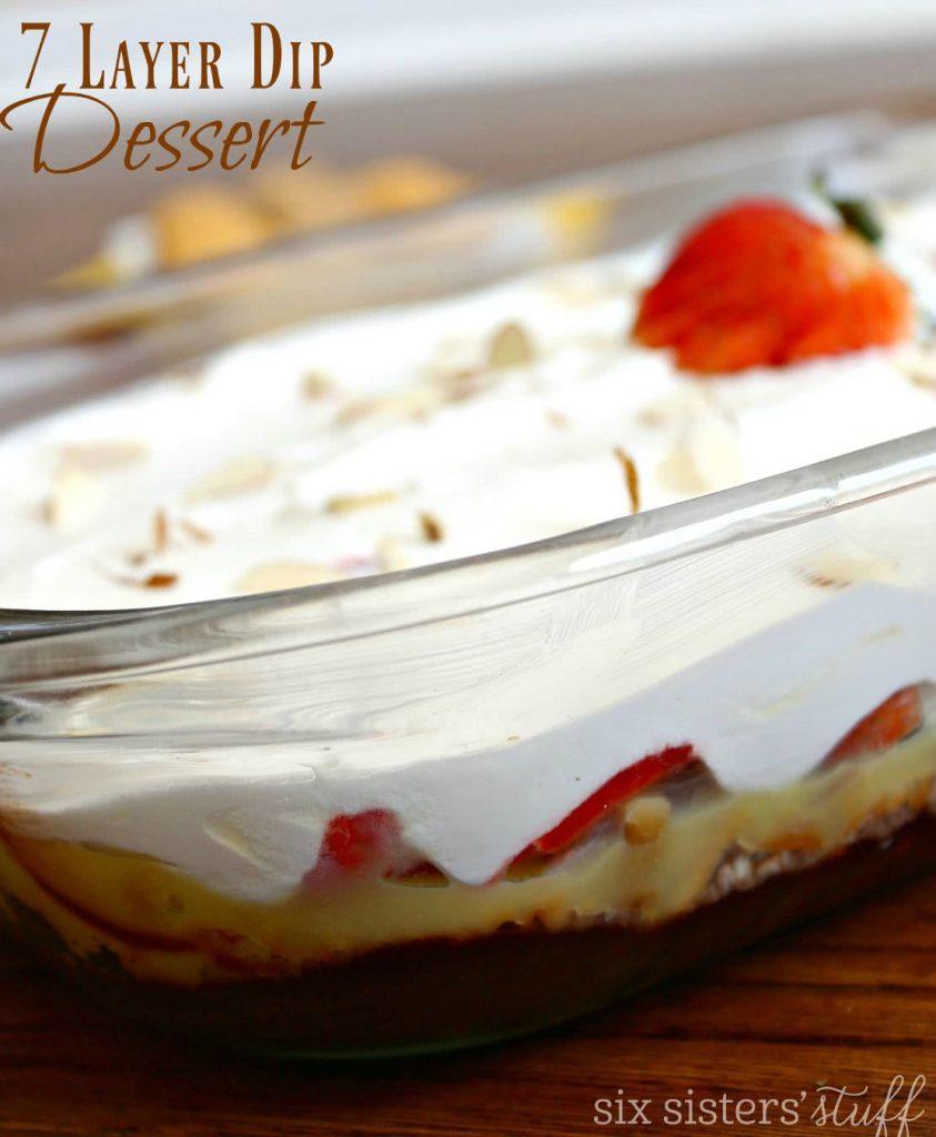 7 layer dip dessert 2