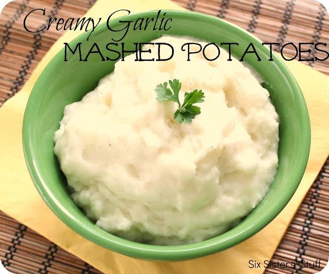 Creamy Garlic Mashed Potatoes Recipe