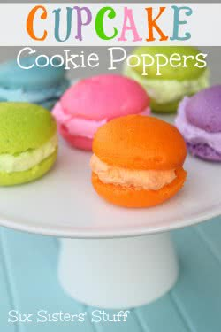 Cupcake Cookie Poppers Recipe