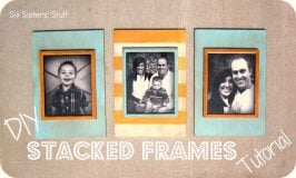 DIY Stacked Frames Tutorial