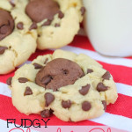 Fudgy Chocolate Cake Mix Cookies