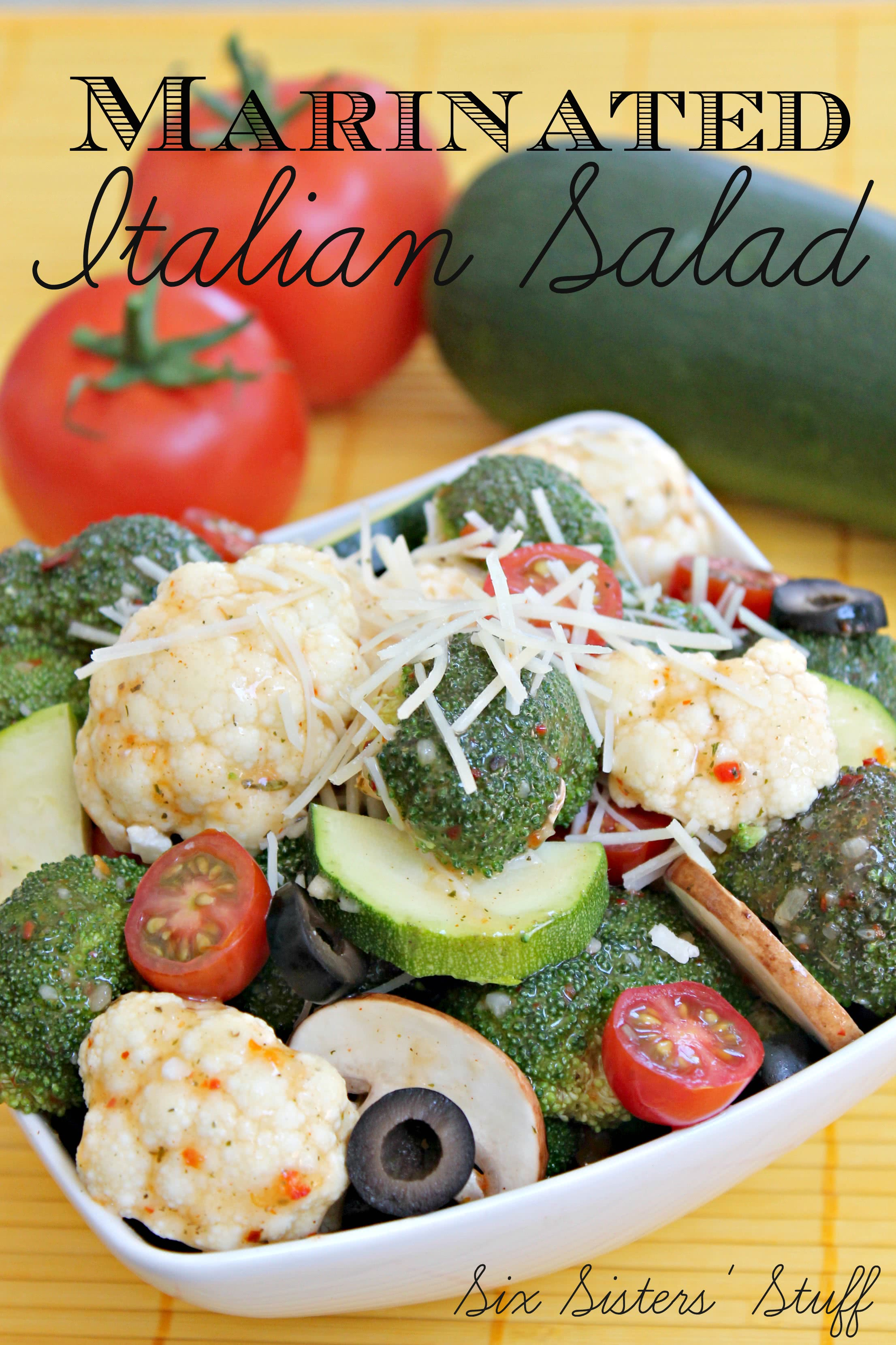 Marinated Italian Salad Recipe