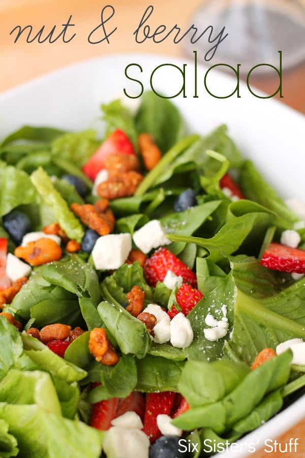 Nut and Berry Salad Recipe