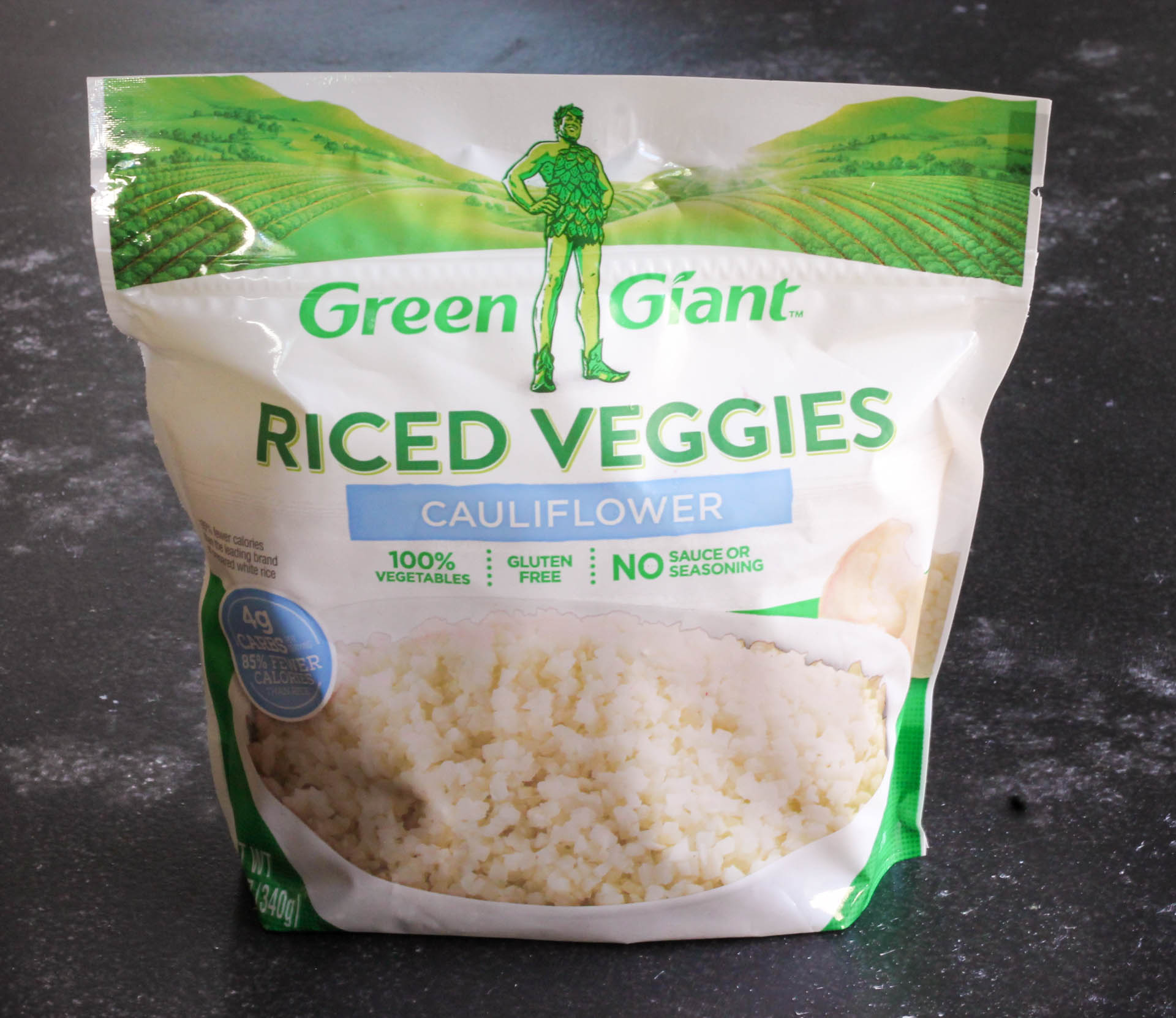 Green Giant Riced Veggies package